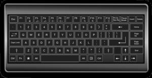 スマホ対応のキーボード