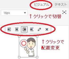 Wordpressビジュアルエディター